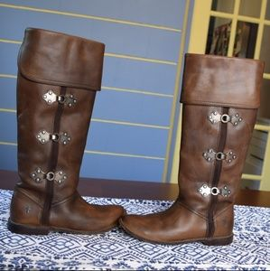 Frye Paige Clover riding boots!